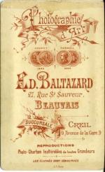 Baltazard, Ed.