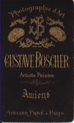 BOSCHER, GUSTAVE