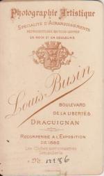 BUSIN, LOUIS