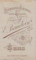 BAUDOIN, E.