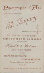 Buquoy, A.