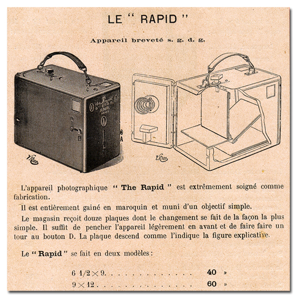 Comptoir General de Photographie Le rapid