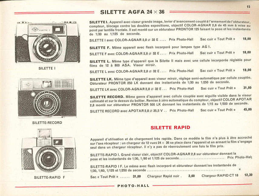 Agfa Silette Rapid IF