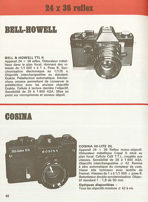 Bell and Howell TTL II