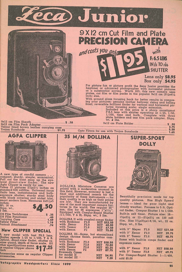 Ansco Clipper Special