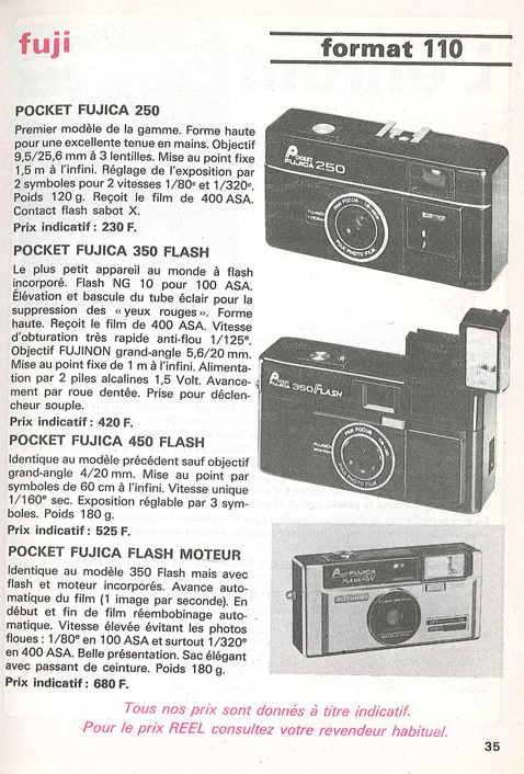 Fuji Fujica Pocket Flash AW