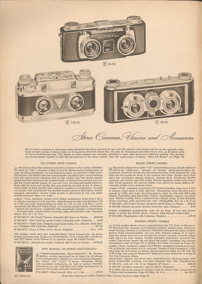 Montgomery Ward Photrix Stereo