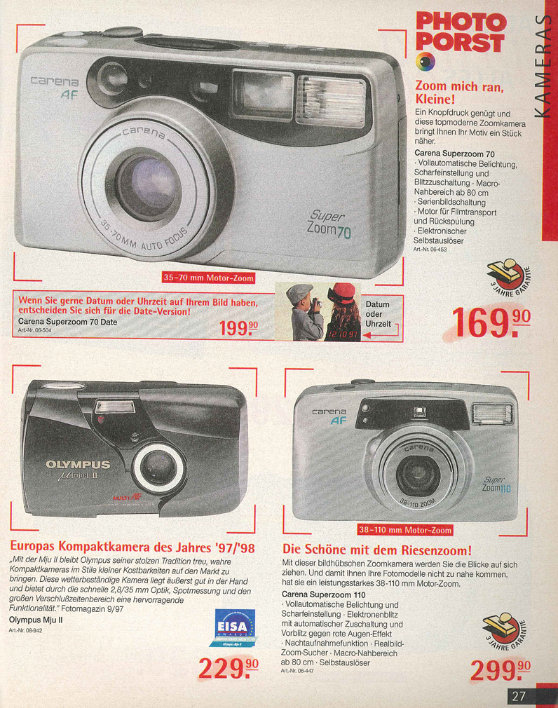 Carena Superzoom 70