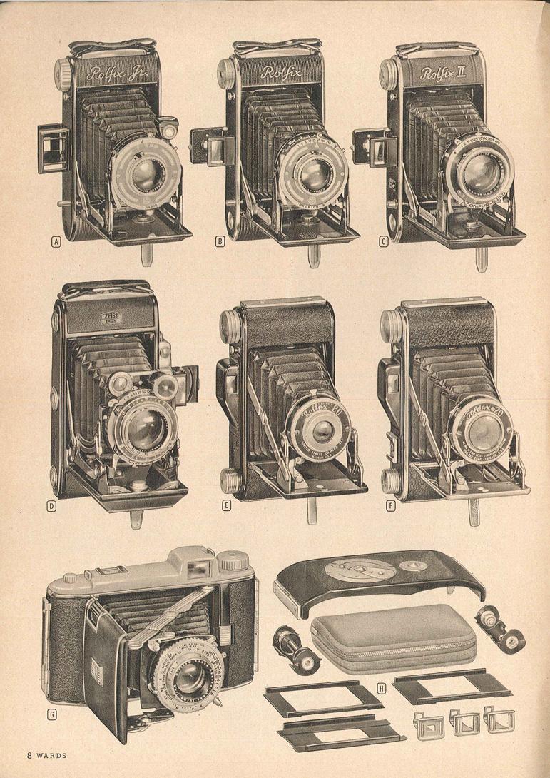 United States Camera Corp Rollex 20