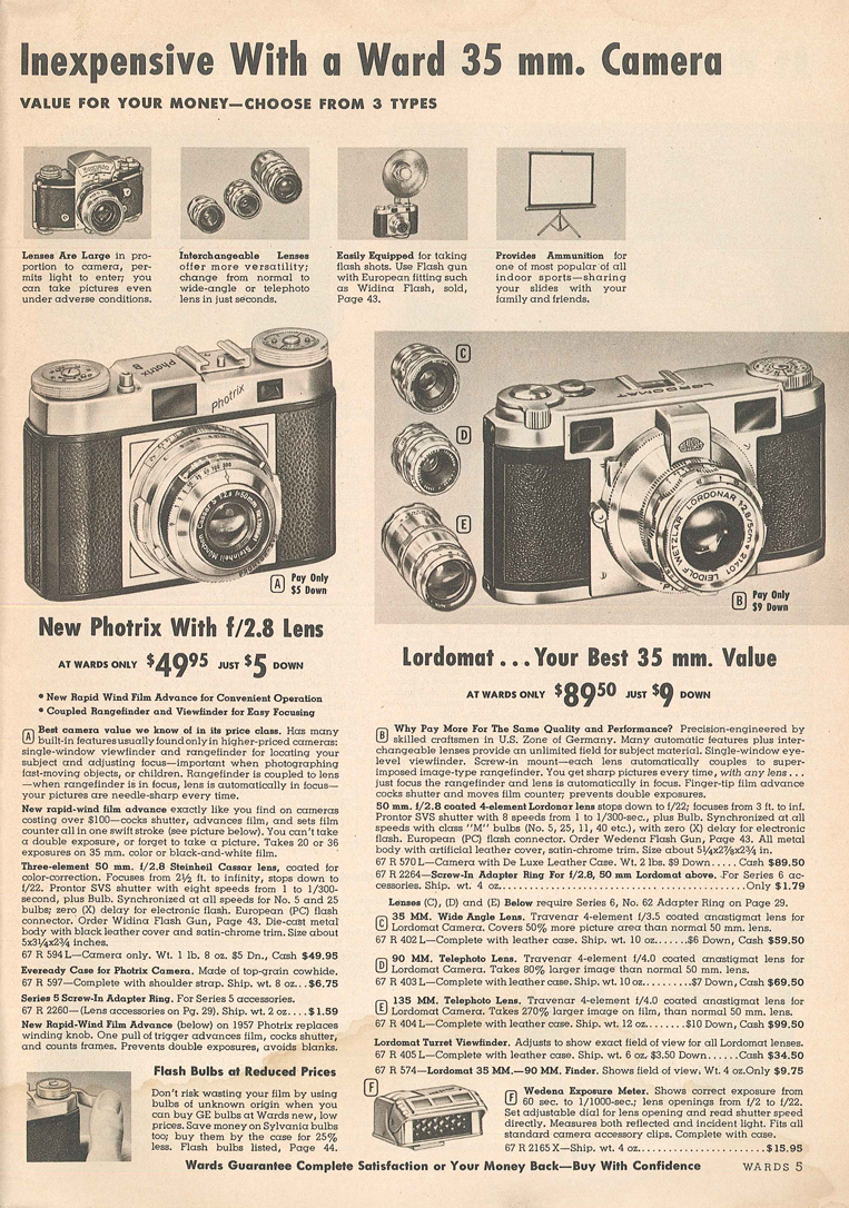 Montgomery Ward Photrix B