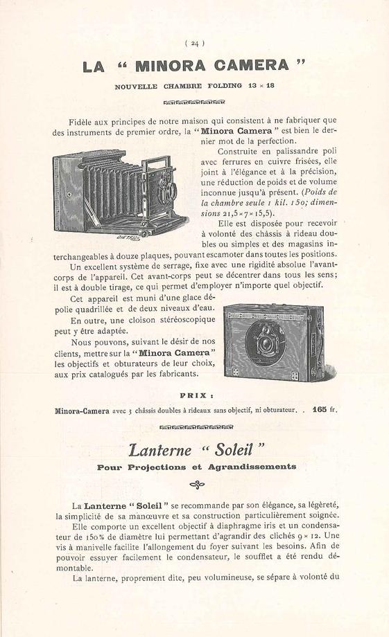 Joux Minora Camera