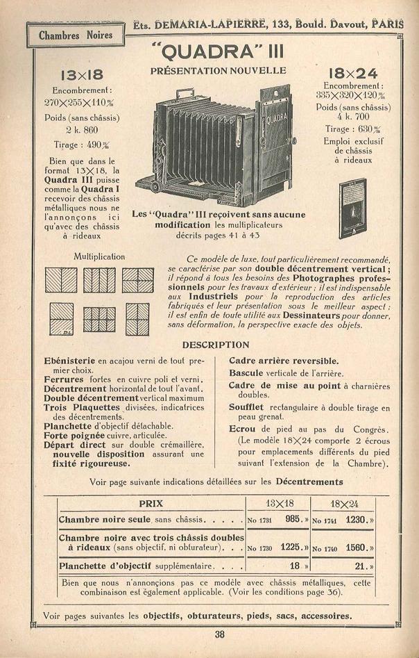 Demaria lapierre chambre quadra iii for Chambre quadra