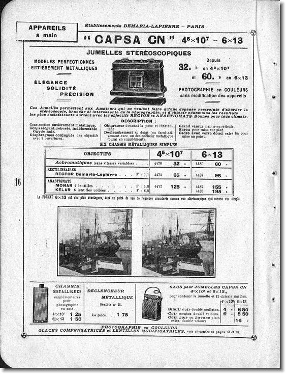 Demaria-Lapierre Capsa CN
