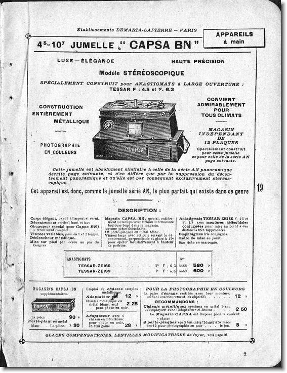 Demaria-Lapierre Capsa BN