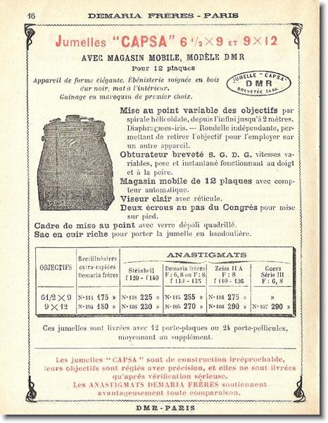 Demaria-Lapierre Capsa