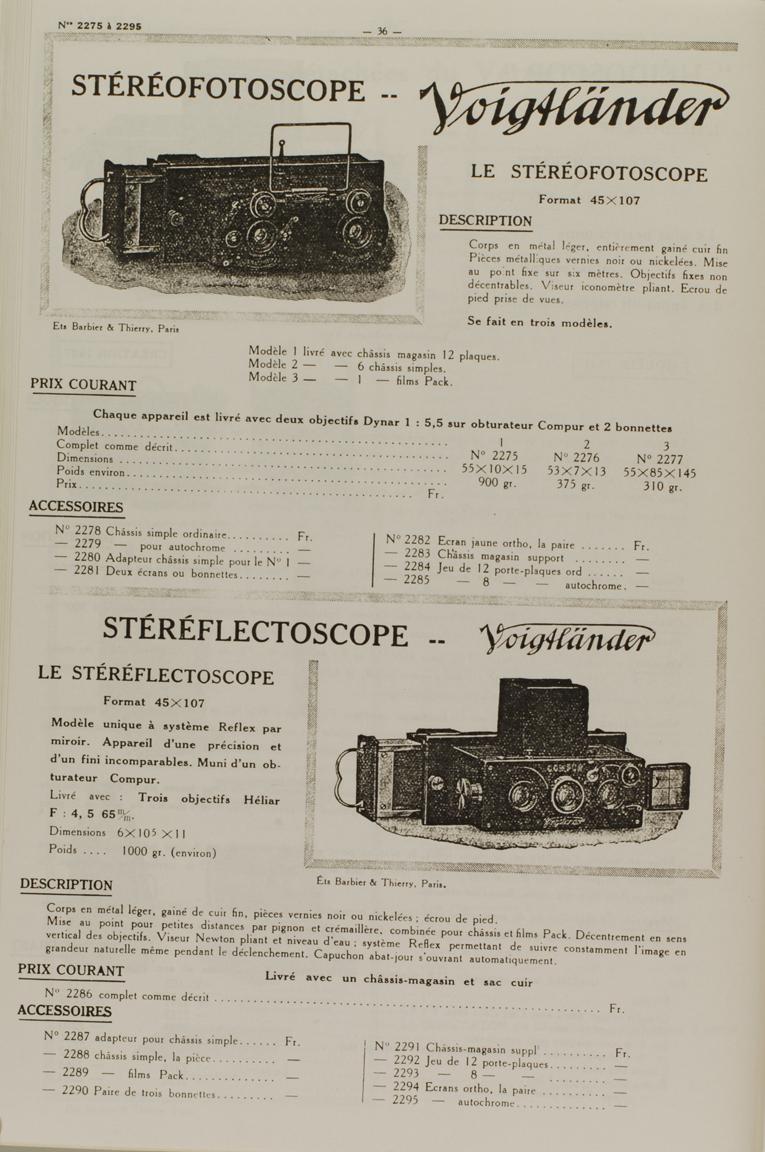 Voigtlander Stereofotoskop