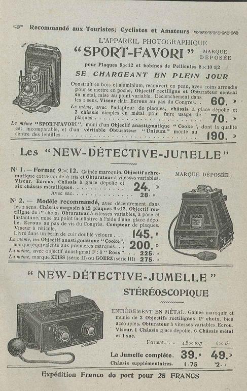 Target New-Détective Jumelle Stéréo