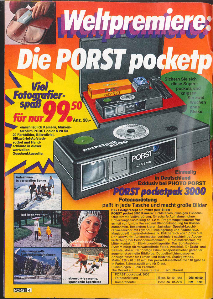 Porst Pocketpak 3000
