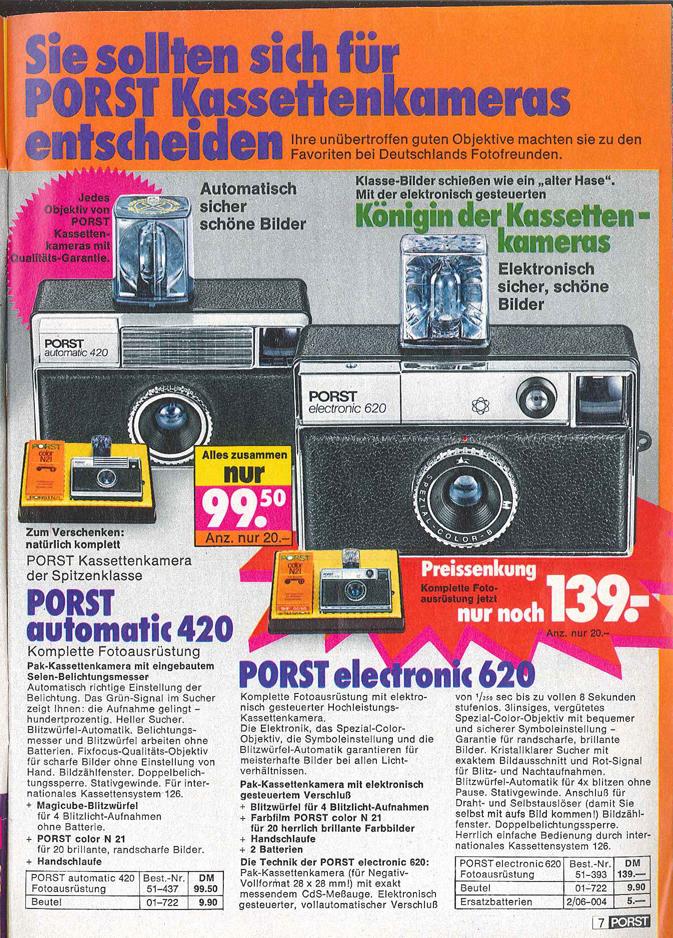 Porst Electronic 620