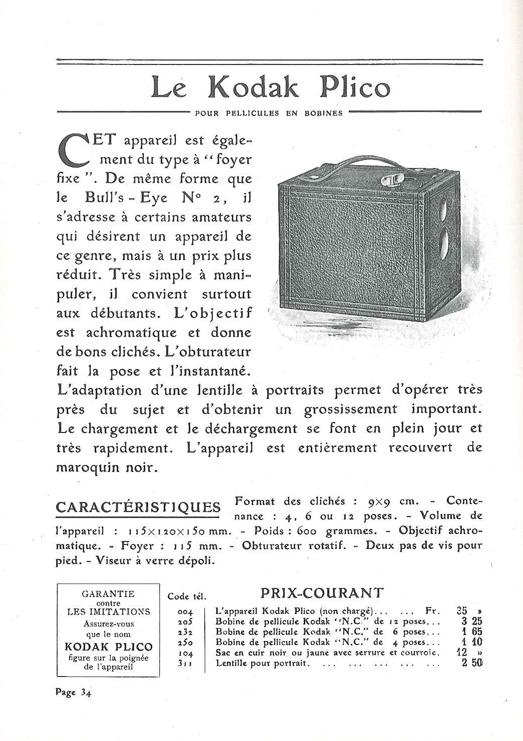 Kodak Plico