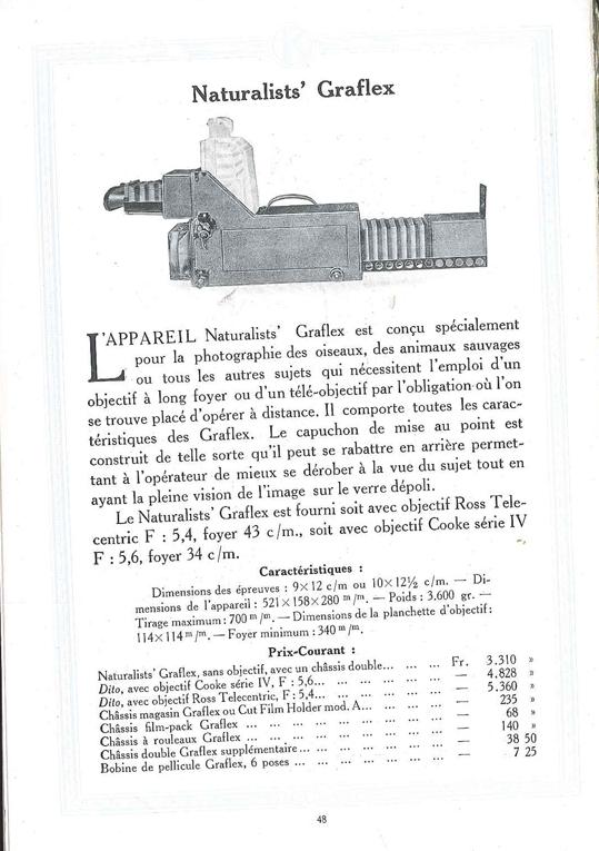 Graflex Naturalist's Graflex