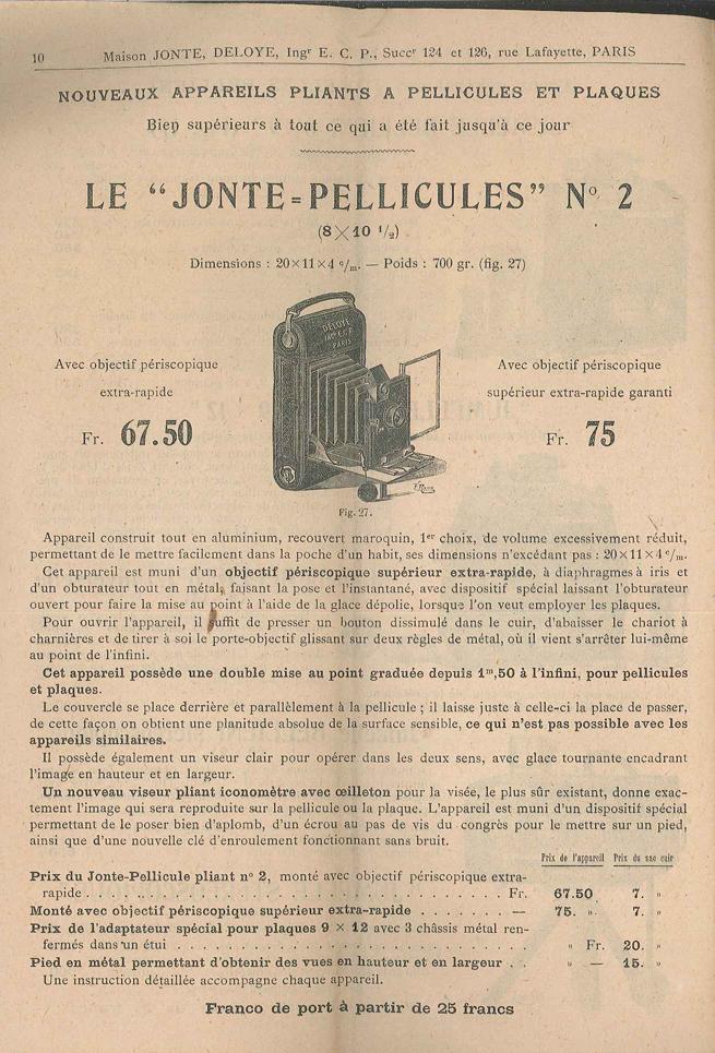 Jonte Jonte-Pellicule n°2