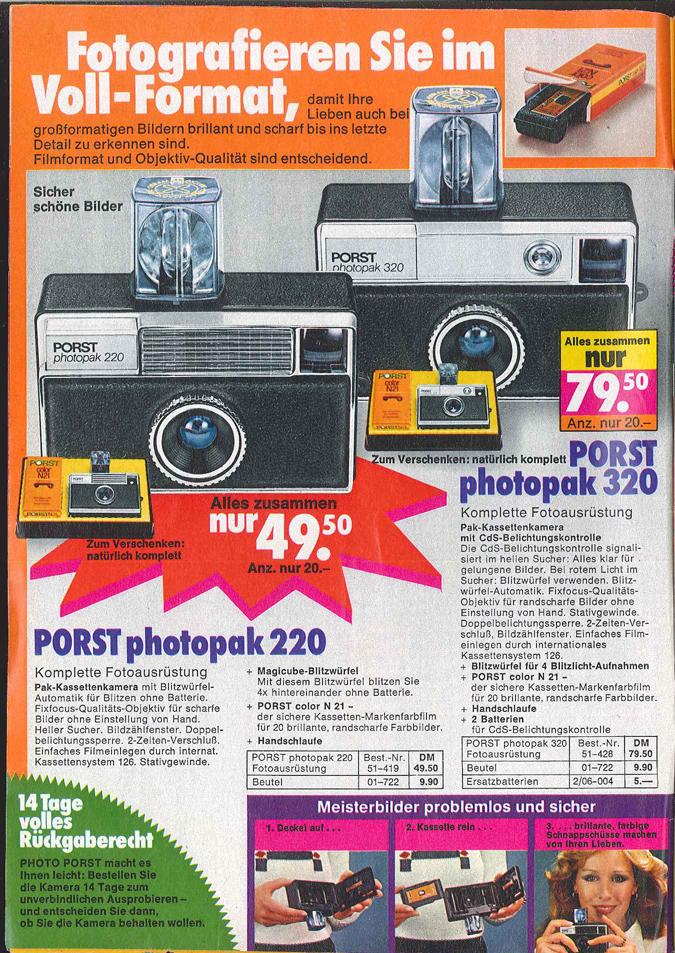 Porst Photopak 220