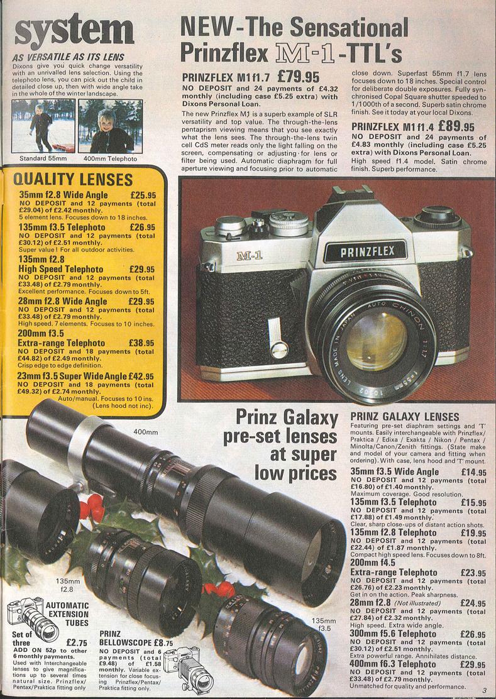 Dixons Prinzflex M-1