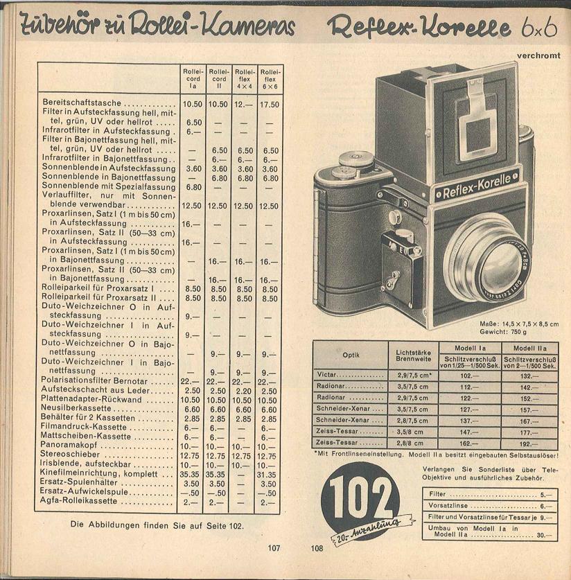 Kochmann Reflex Korelle mod.1A