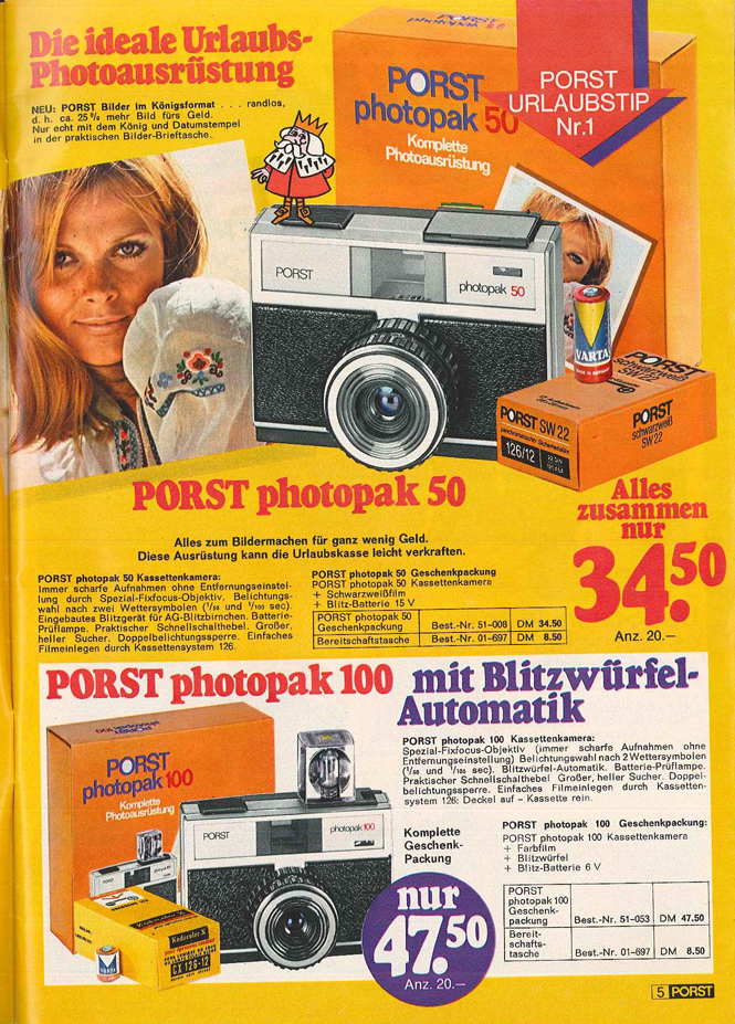 Porst Photopak 100