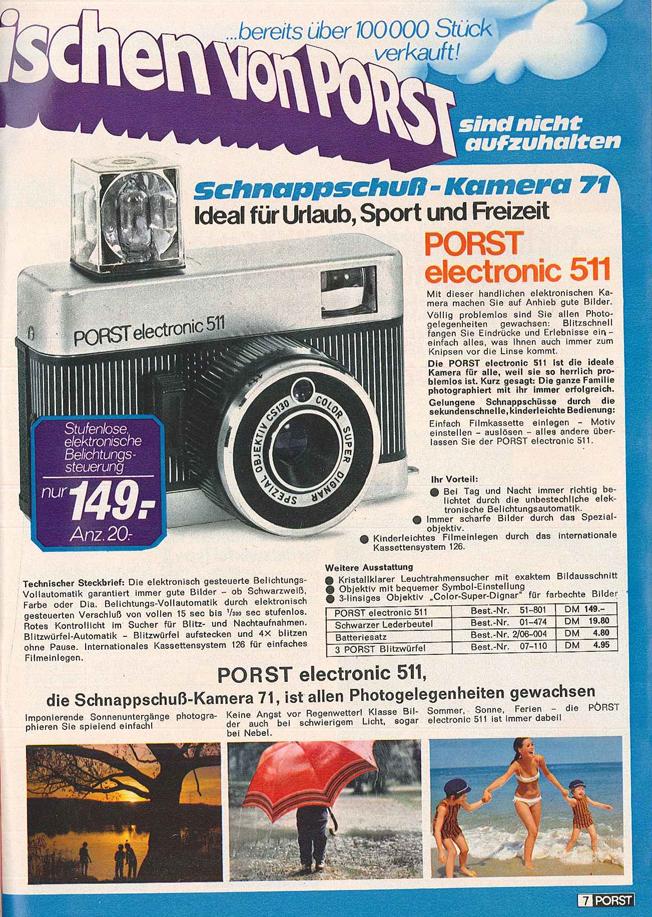 Porst Electronic 511
