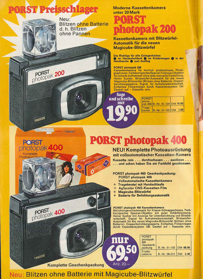 Porst Photopak 400
