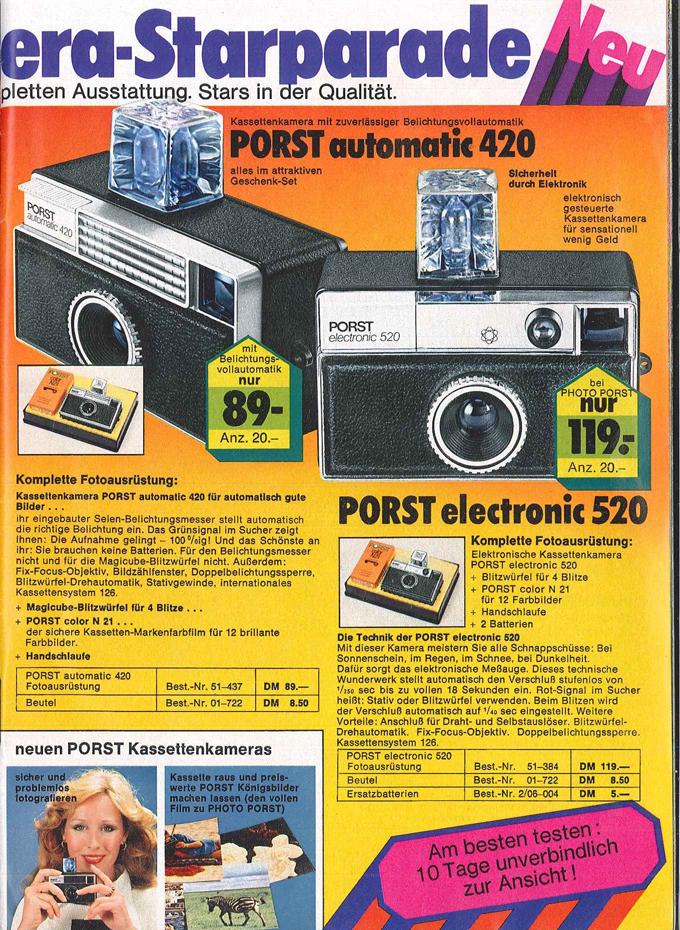 Porst electronic 520