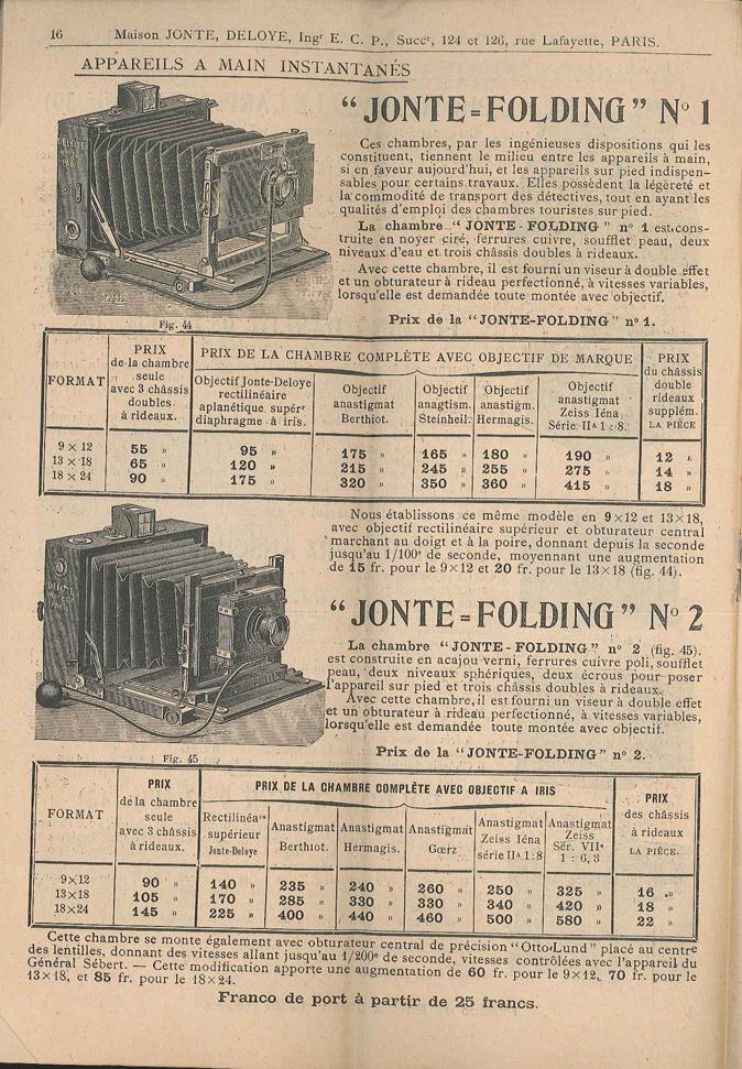 Jonte Jonte-Folding n°1