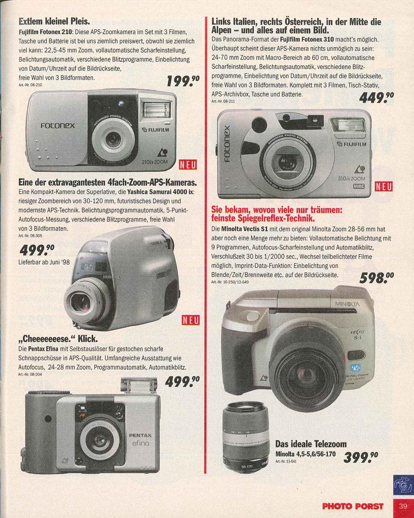 Fujifilm Fotonex 310ix zoom