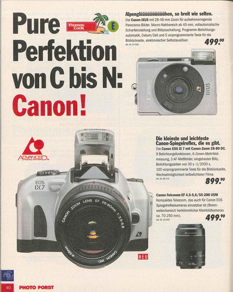 Canon EOS IX7