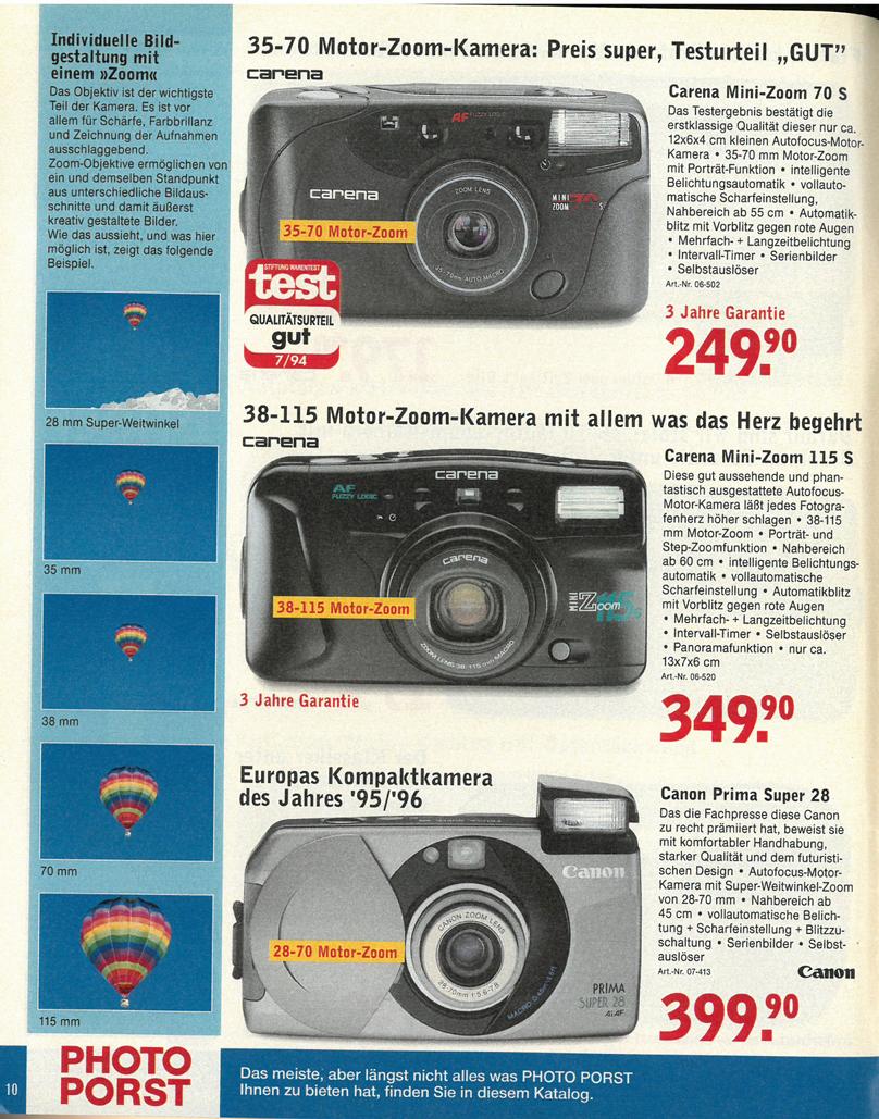 Carena Mini Zoom 115s