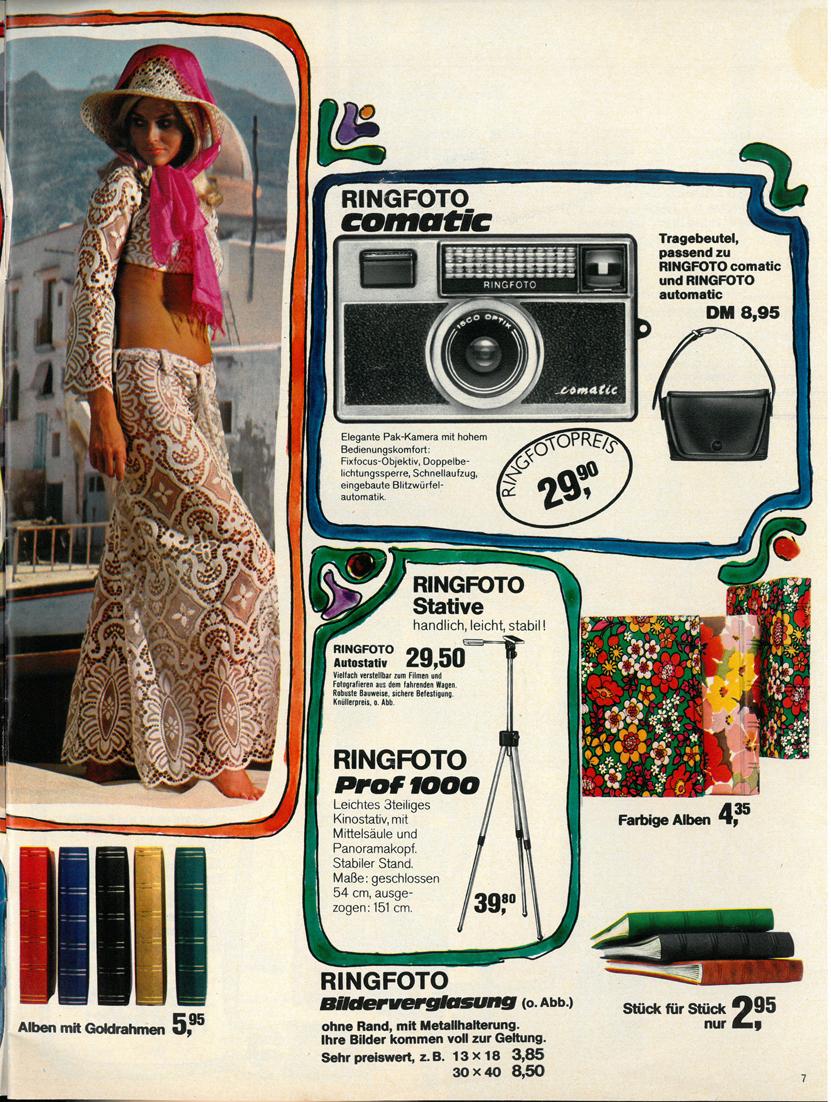 Ringfoto Comatic Vintage cameras collection by Sylvain Halgand