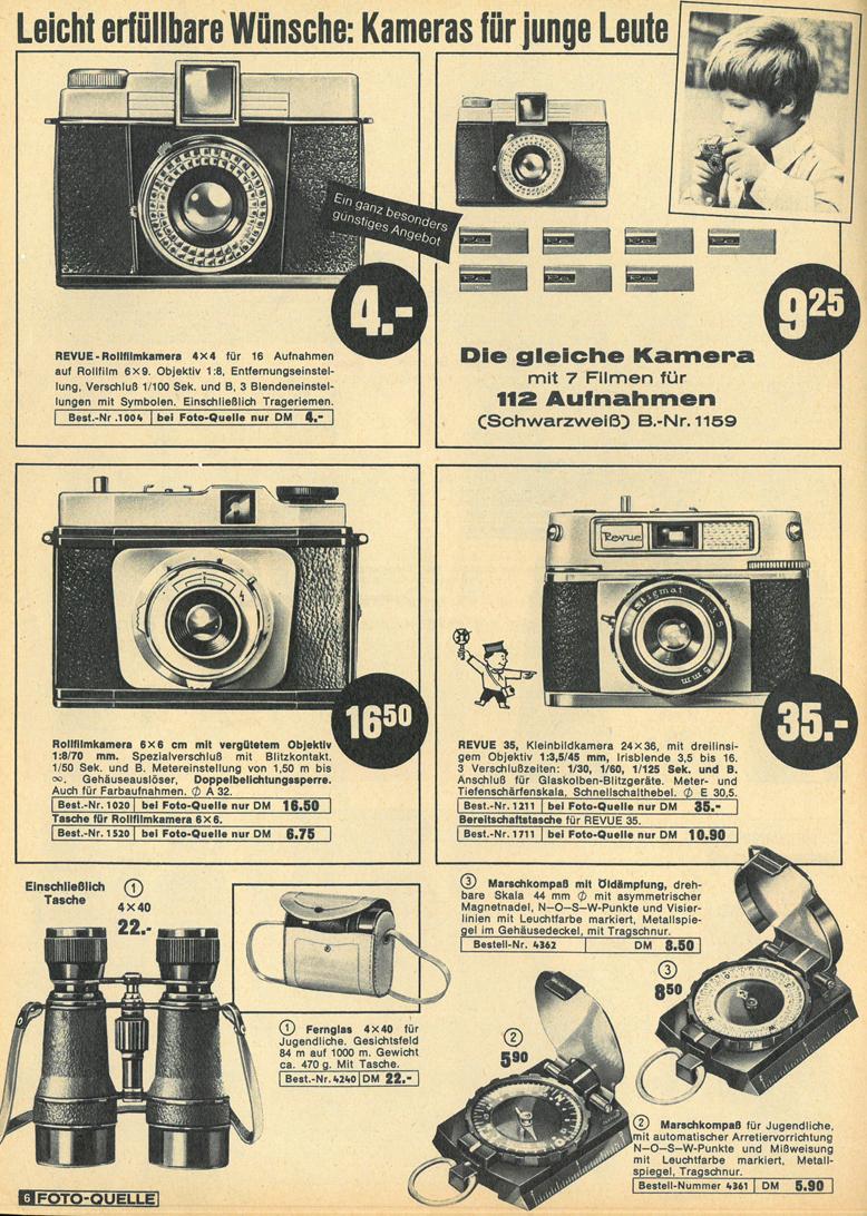 Foto-Quelle Revue Rollfilm Camera 4x4