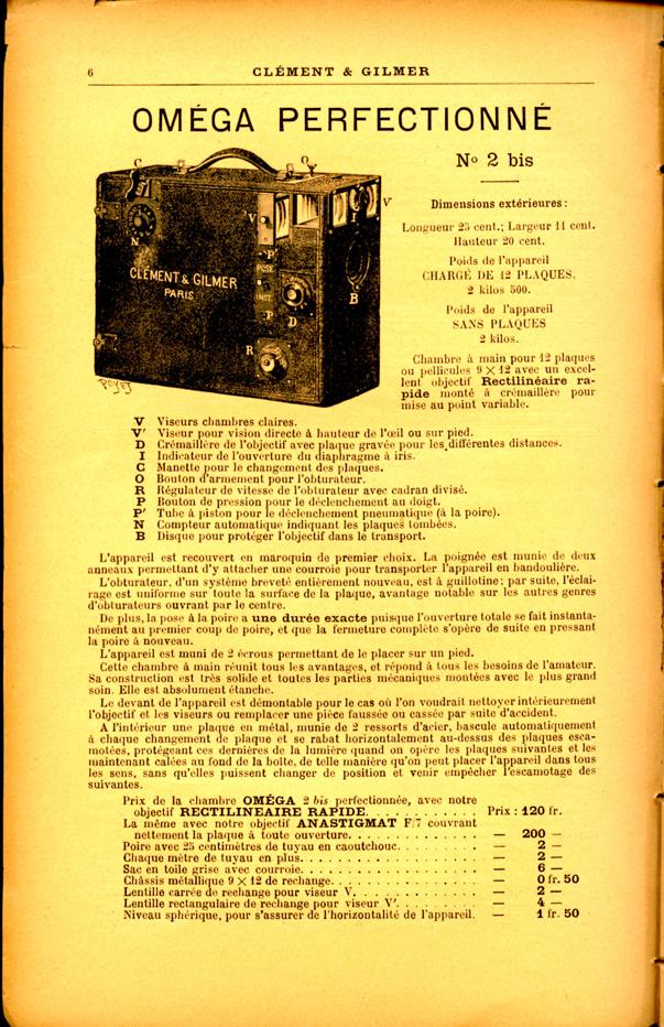 Clement et Gilmer Oméga n°2bis