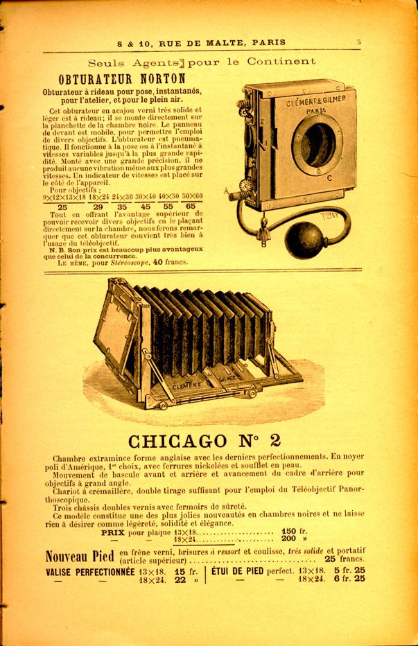 Clement et Gilmer Chicago n°2