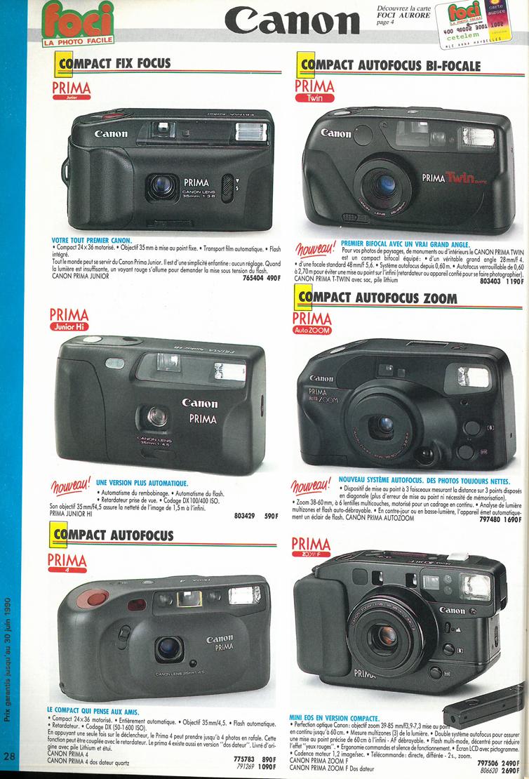 Canon Prima Auto Zoom