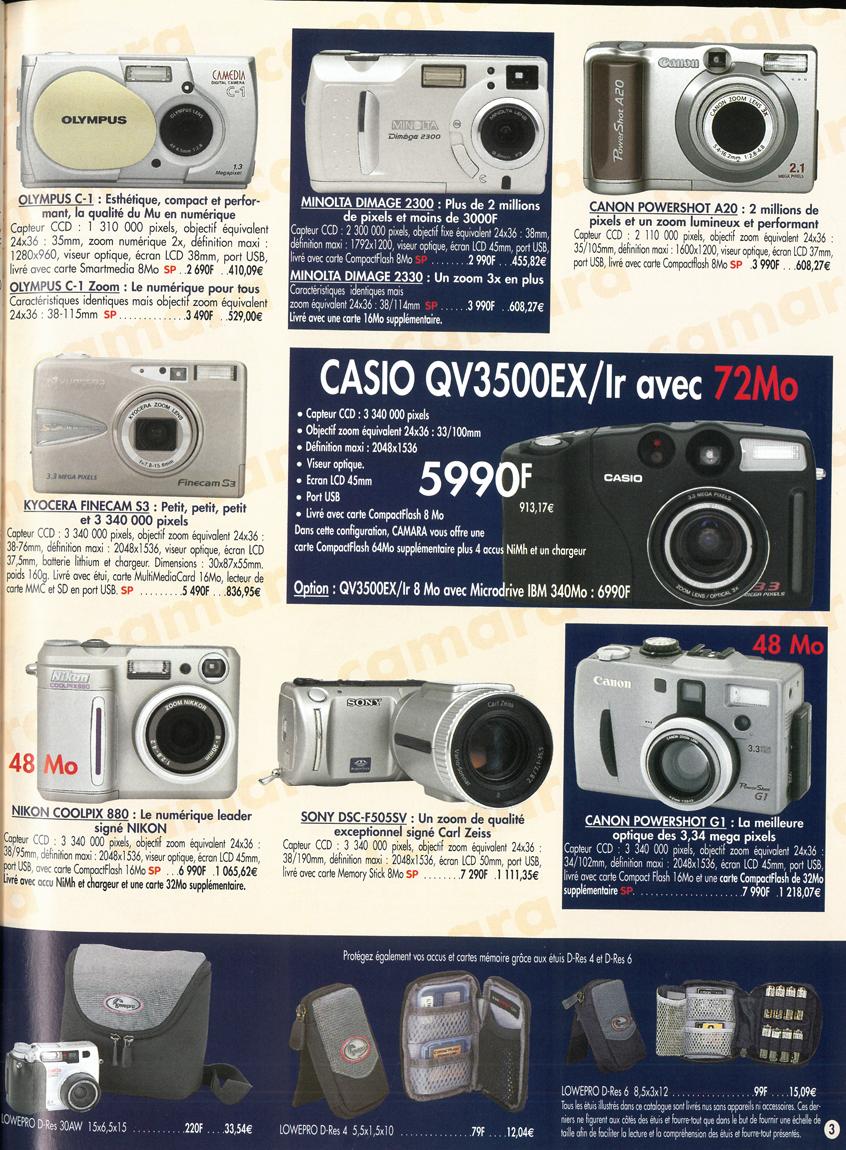 Casio QV-3500 EX