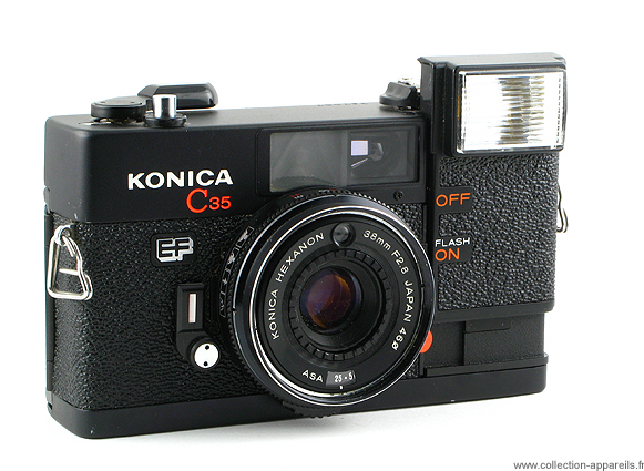 konica c35 ef vintage cameras collection by sylvain halgand rh collection appareils fr konica c35 efd manual Konica C35 MFP