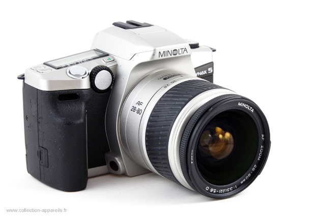 minolta dynax 5 vintage cameras collection by sylvain halgand rh collection appareils fr Dynax Roanoke VA Jobs Dynax Forum