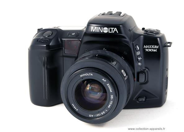 Minolta Maxxum 700si Vintage Cameras Collection By Sylvain Halgand