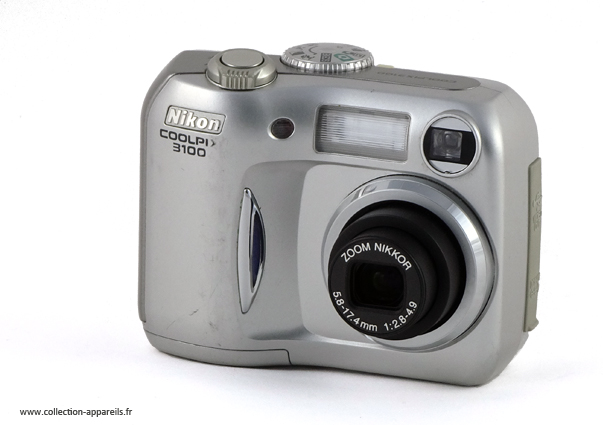 a2b9d6a7af Nikon Coolpix 3100 Collection appareils photo anciens par Sylvain Halgand
