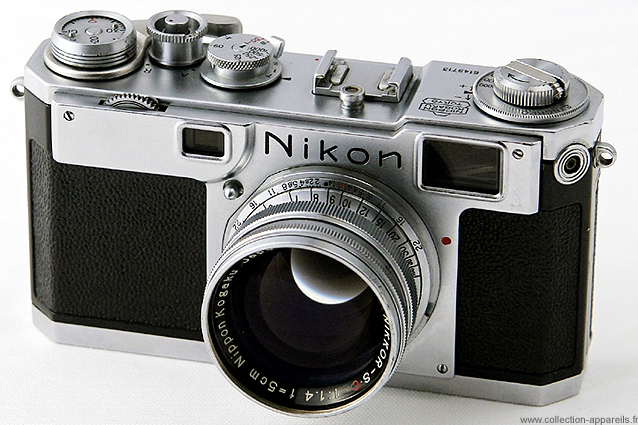 89036a2588 Nikon S2 Collection appareils photo anciens par Sylvain Halgand