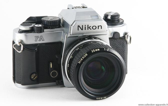 nikon fa vintage cameras collection by sylvain halgand rh collection appareils fr Nikon FA Camera Review Battery Nikon FA