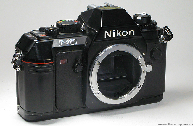 7f8484126f Nikon F-301 Collection appareils photo anciens par Sylvain Halgand